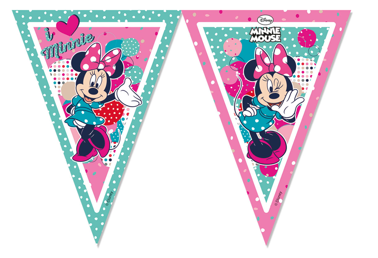 Minnie Dots Flaggenkette P84910--