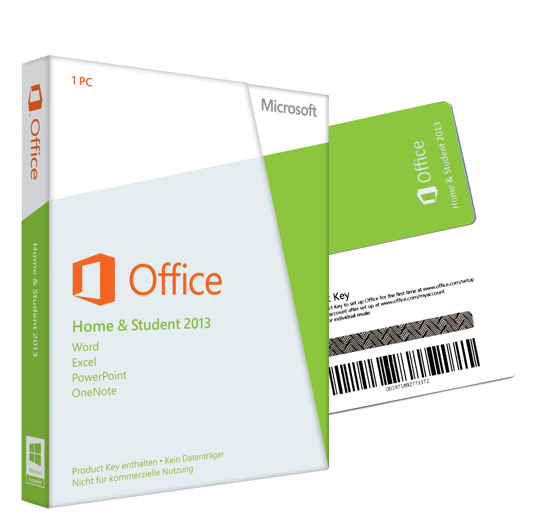 microsoft office 2013 home and student pkc 32 64 bit 1pc. Black Bedroom Furniture Sets. Home Design Ideas