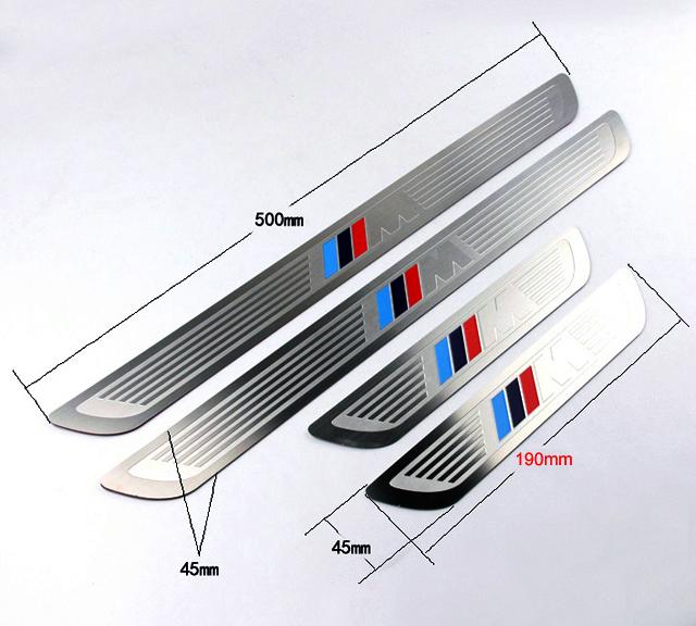 m power look edelstahl set einstiegsleisten design bmw x1 e84 neu ebay. Black Bedroom Furniture Sets. Home Design Ideas