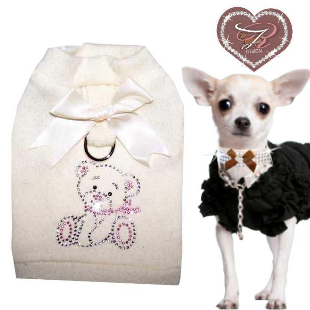 chihuahua designer soft harness dog coat dog sweater teddy m m12 ebay. Black Bedroom Furniture Sets. Home Design Ideas
