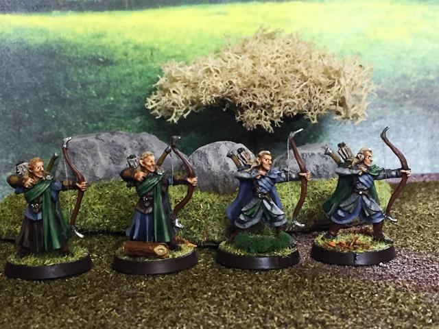 Aragorn et les 5 Armées - Armée de Mirkwood Update Xwk22ygt