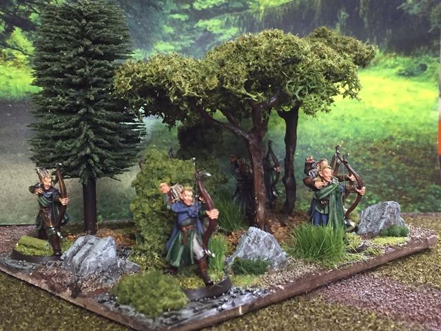 Aragorn et les 5 Armées - Armée de Mirkwood Update 9k336tbn