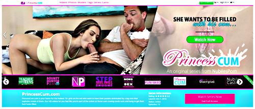 Nubiles Porn - Princess Cum 1080p Cover