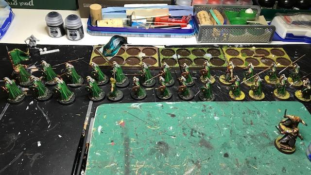 Aragorn et les 5 Armées - Armée de Mirkwood Update 4vhelltc