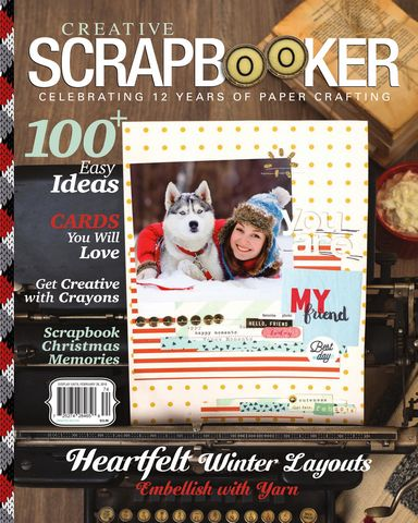 : Creative Scrapbooker Winter 2017 2018