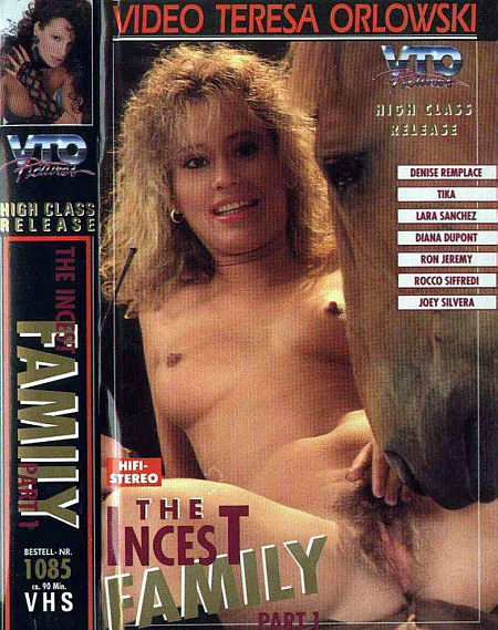 Incest Family 1 -1991- Cover