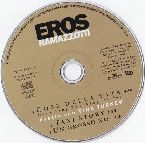 Eros Ramazzotti Duetto Con Tina Turner Cose Della Vita Cd Maxi 1997