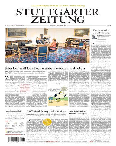 download Stuttgarter.Zeitung.Stadtausgabe.Lokalteil.Stuttgart.Innenstadt.21.November.2017