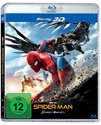 Spider Man Homecoming 3D 2017 German Dl 1080p BluRay x264-BluRay3D