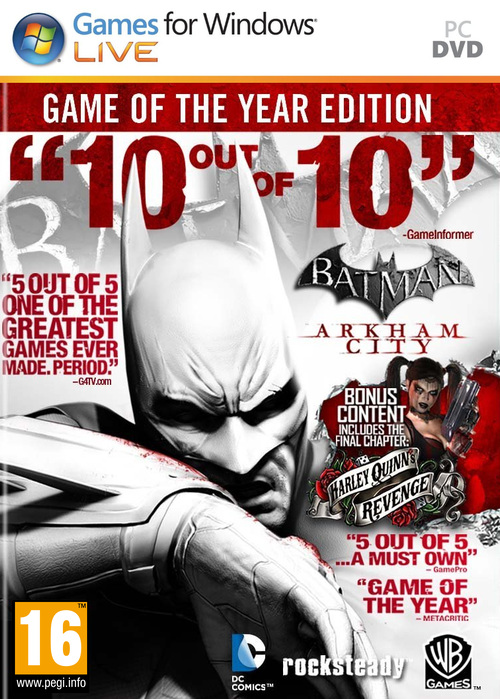 Batman: Arkham City Game of the Year Edition (2012)