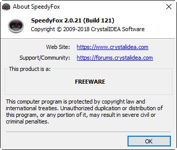 العاديه SpeedyFox 2.0.21 Build 2018,2017 vk2dy99f.png