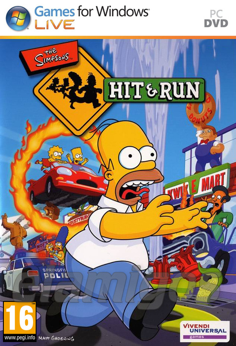 Re: The Simpsons Hit and Run (EN)