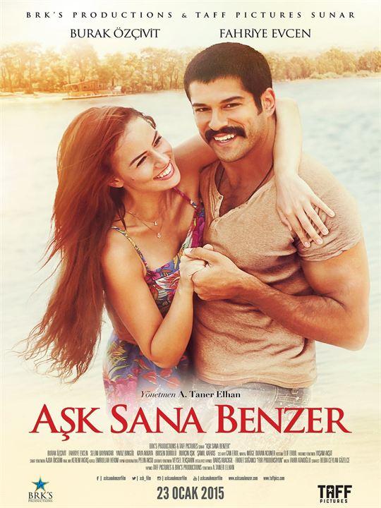 Aşk Sana Benzer | 2015 | 720p | DVDRip | Upscale | x264 | AC3 | 5.1 | TTR