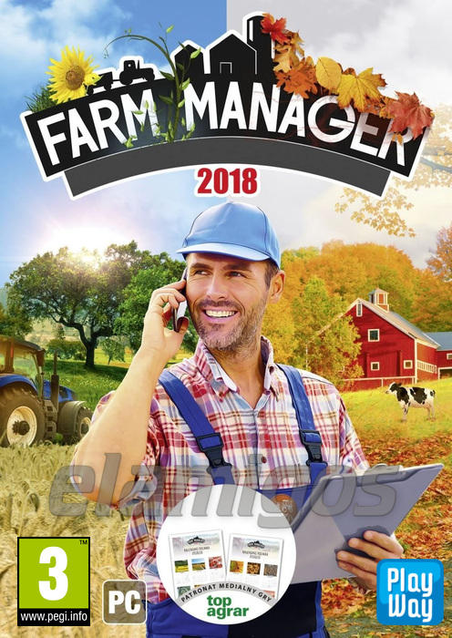 farm manager 2018 multi10 elamigos pc spiele. Black Bedroom Furniture Sets. Home Design Ideas