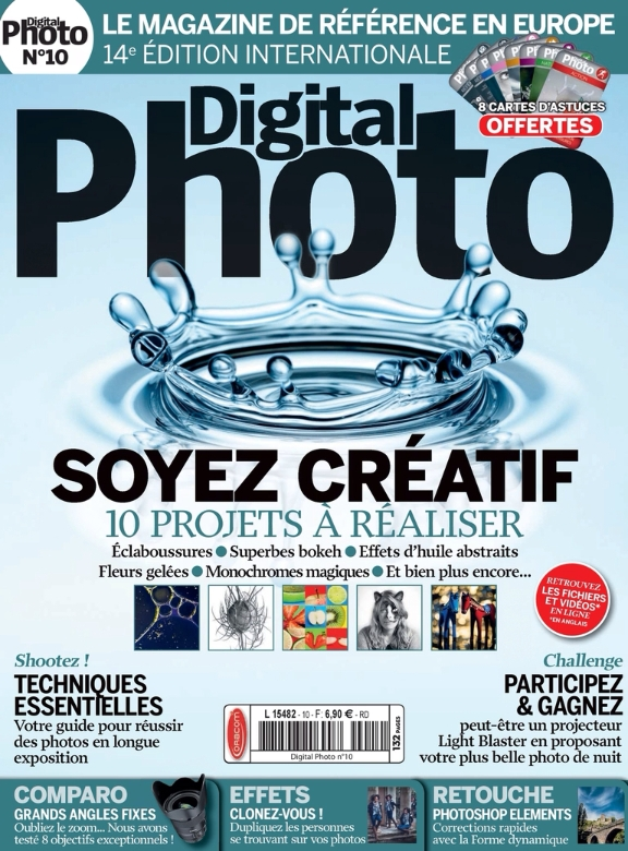 Digital Photo (France) Magazine No.10 - Mars-Avril 2015