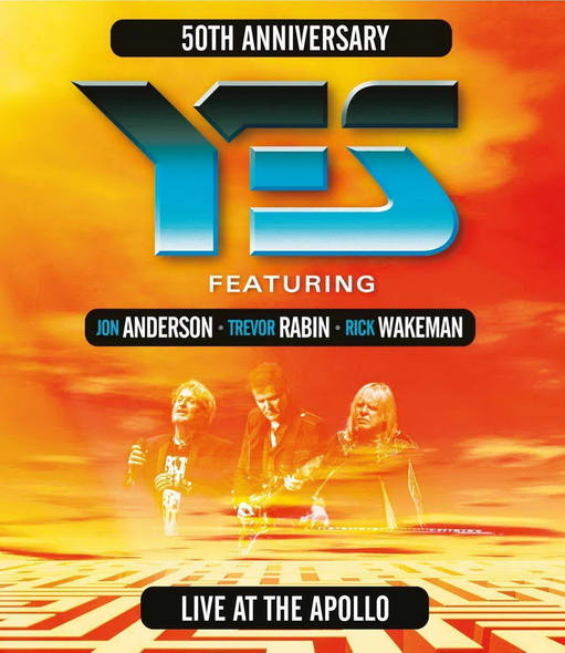 Yes - Live At The Apollo (2018, DVD9)