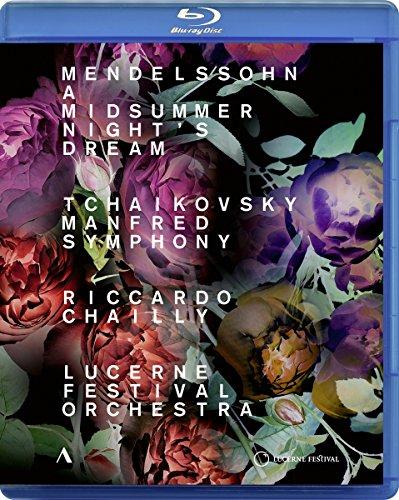 Mendelssohn - Manfred Symphony - Lucerne Festival Orchestra (2018, Blu-ray)