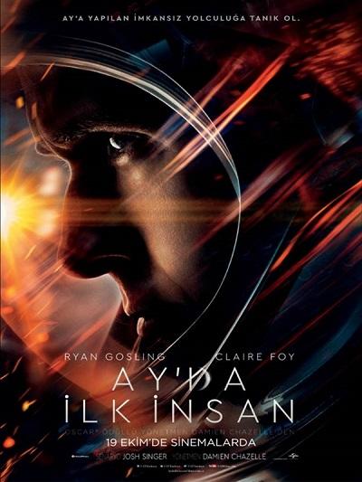 Ay da İlk İnsan - First Man 2018 Türkçe Altyazılı HD İndir